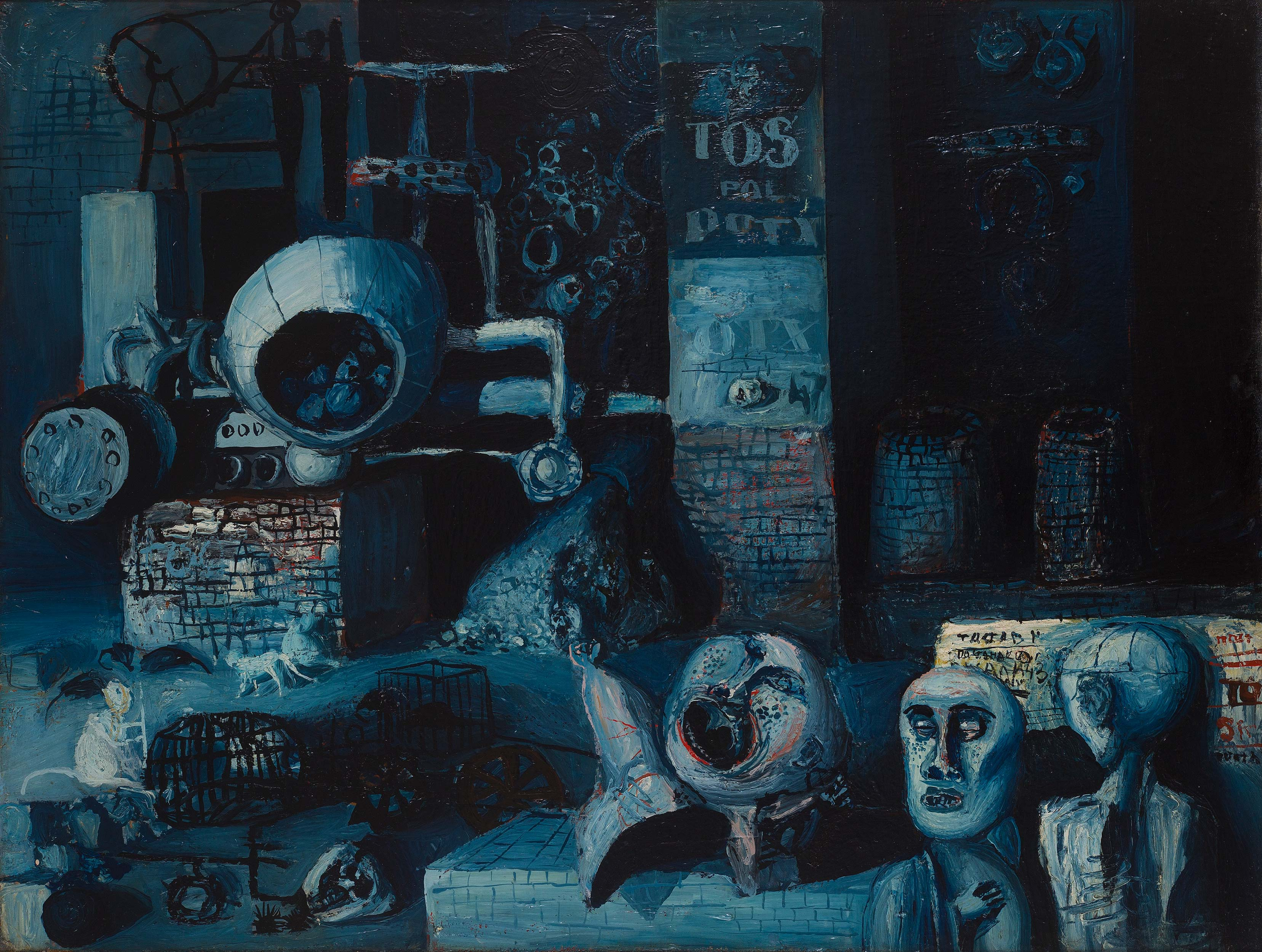 Dado: Untitled, 1954-1955