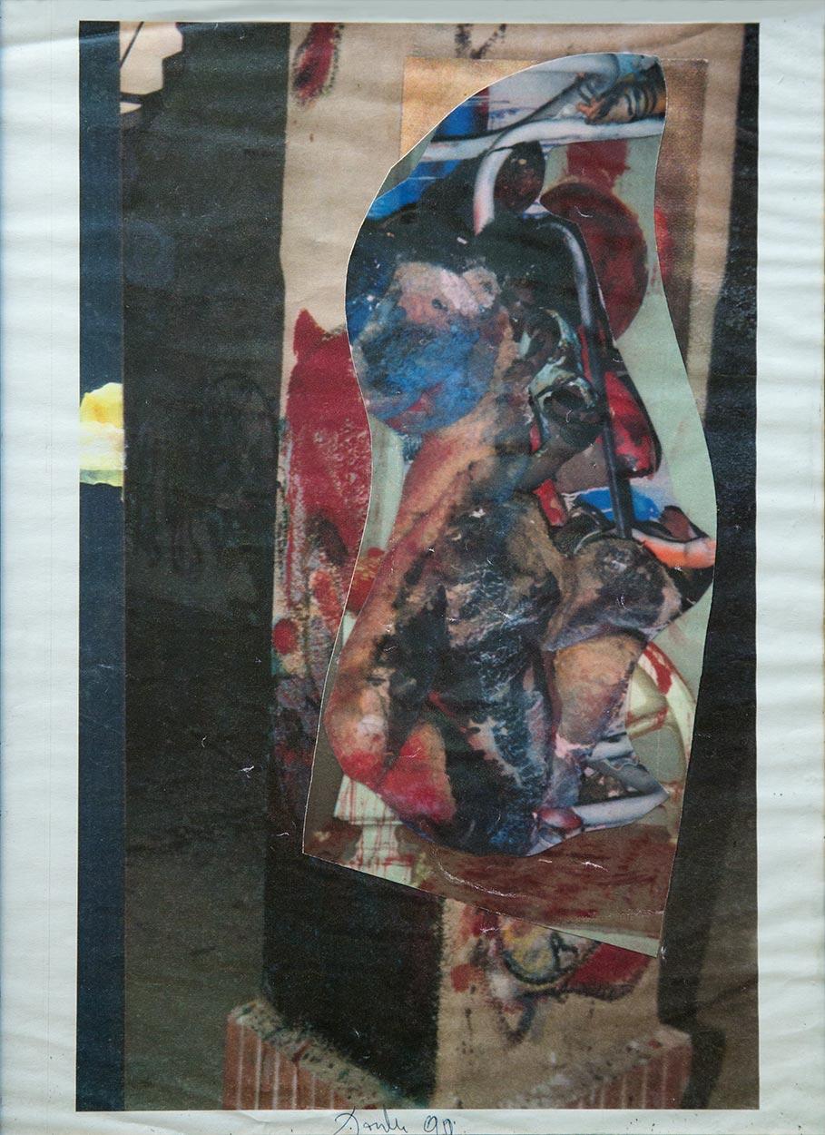 Dado: digital collage, 1999