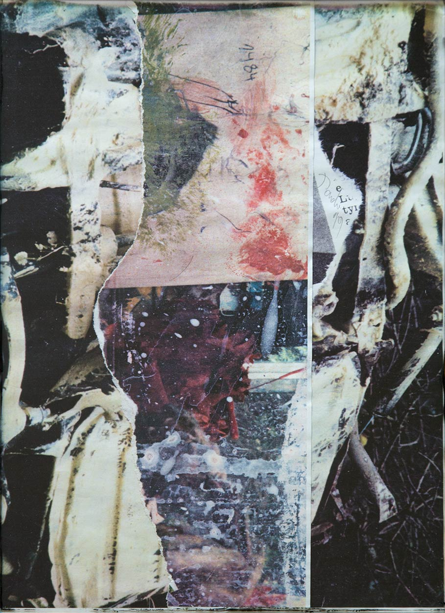 Dado: digital collage, 1999
