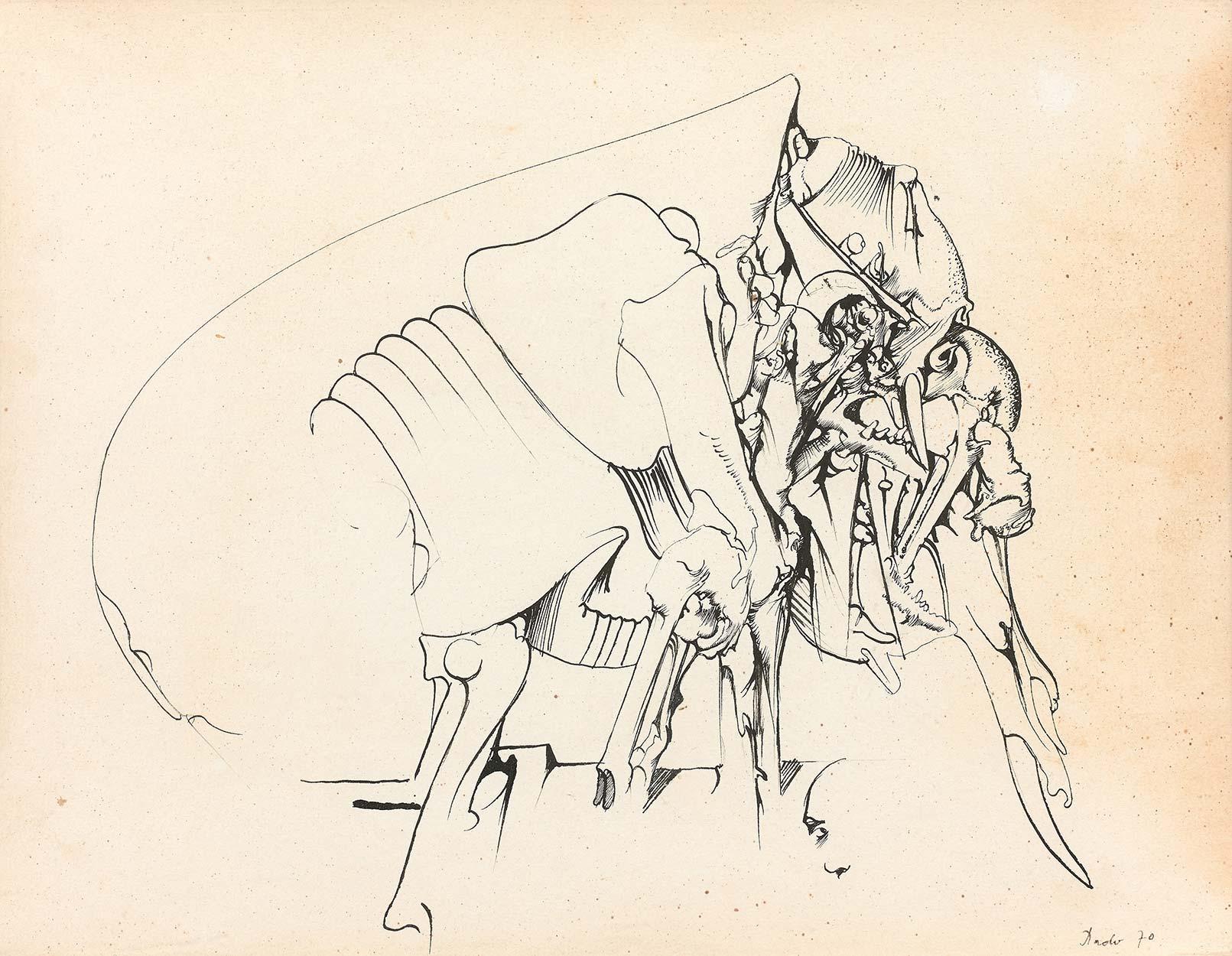 Dado: Untitled, 1970