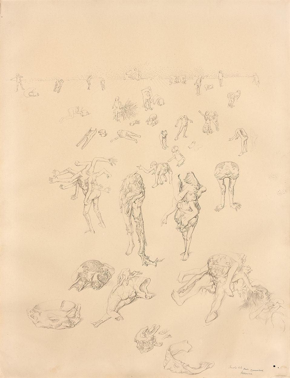 Dado: Bez naslova, 1966