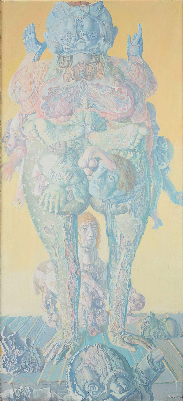 Homme fleurs, 1966-1967