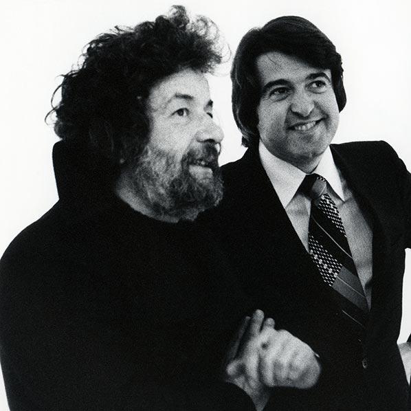 Dado (Miodrag Djuric) and Isy Brachot