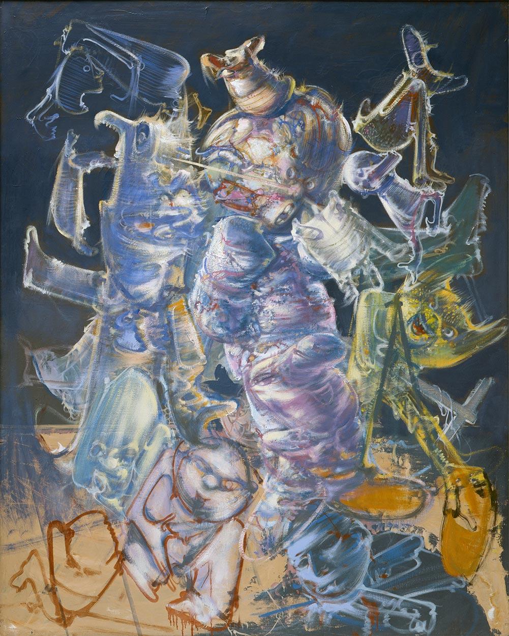 Dado: Presumed self-portrait of Hieronymus Bosch, 1974-2002