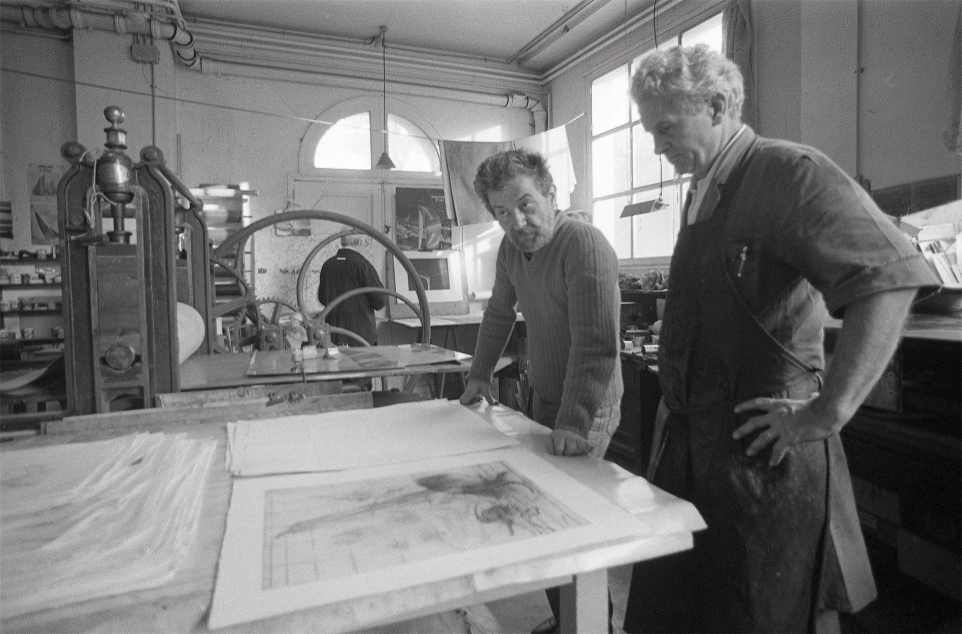 Dado and Robert Frélaut