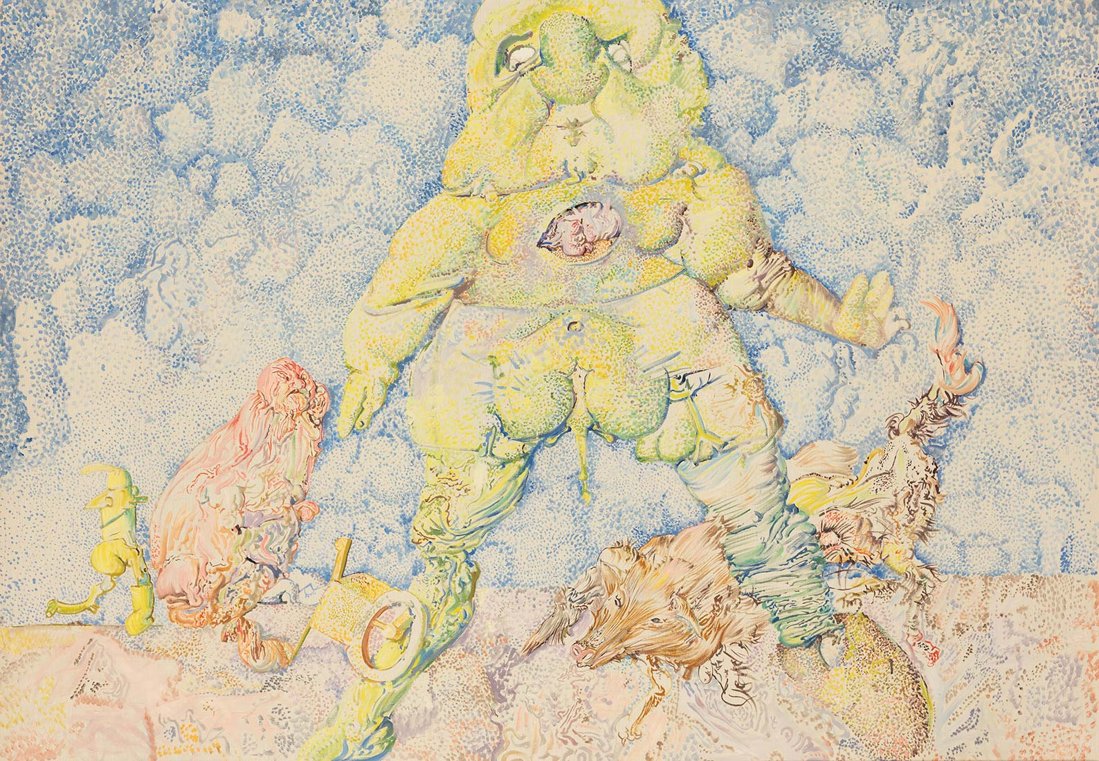 Dado: Untitled, 1961