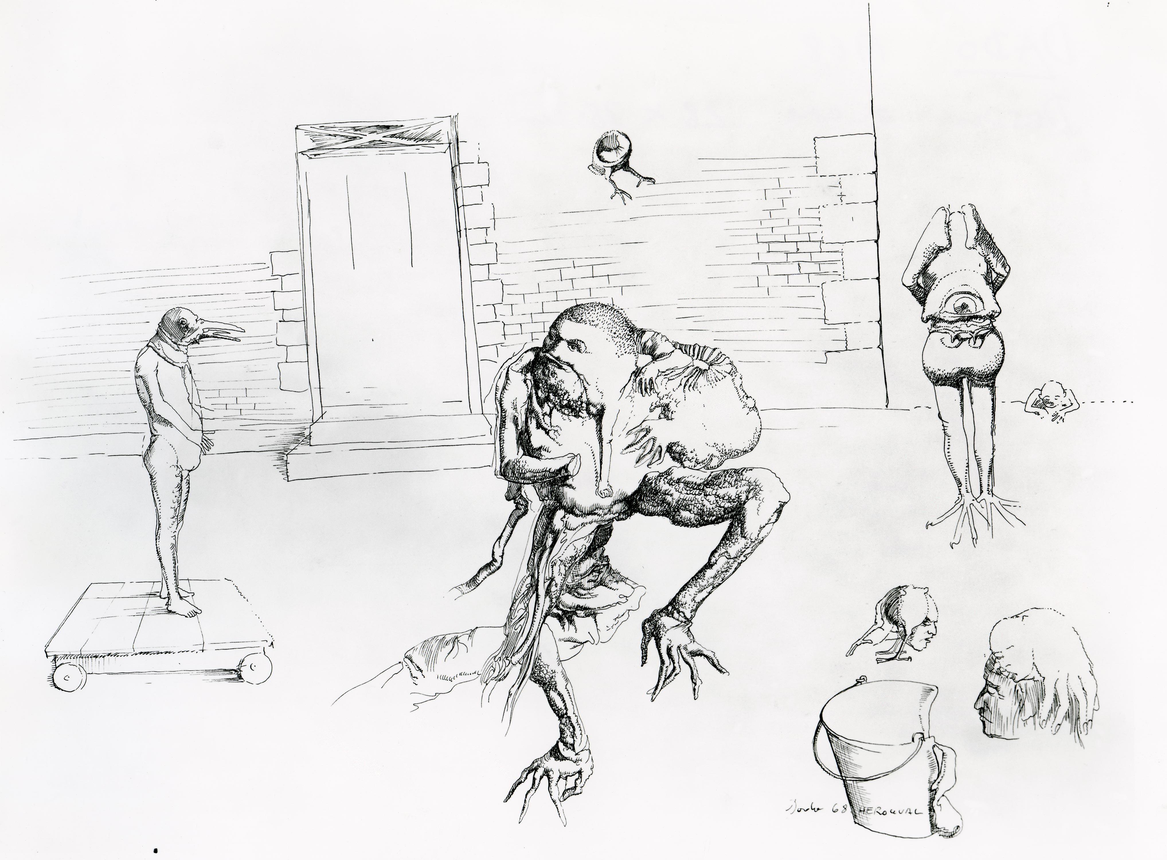 Dado: Untitled, 1968
