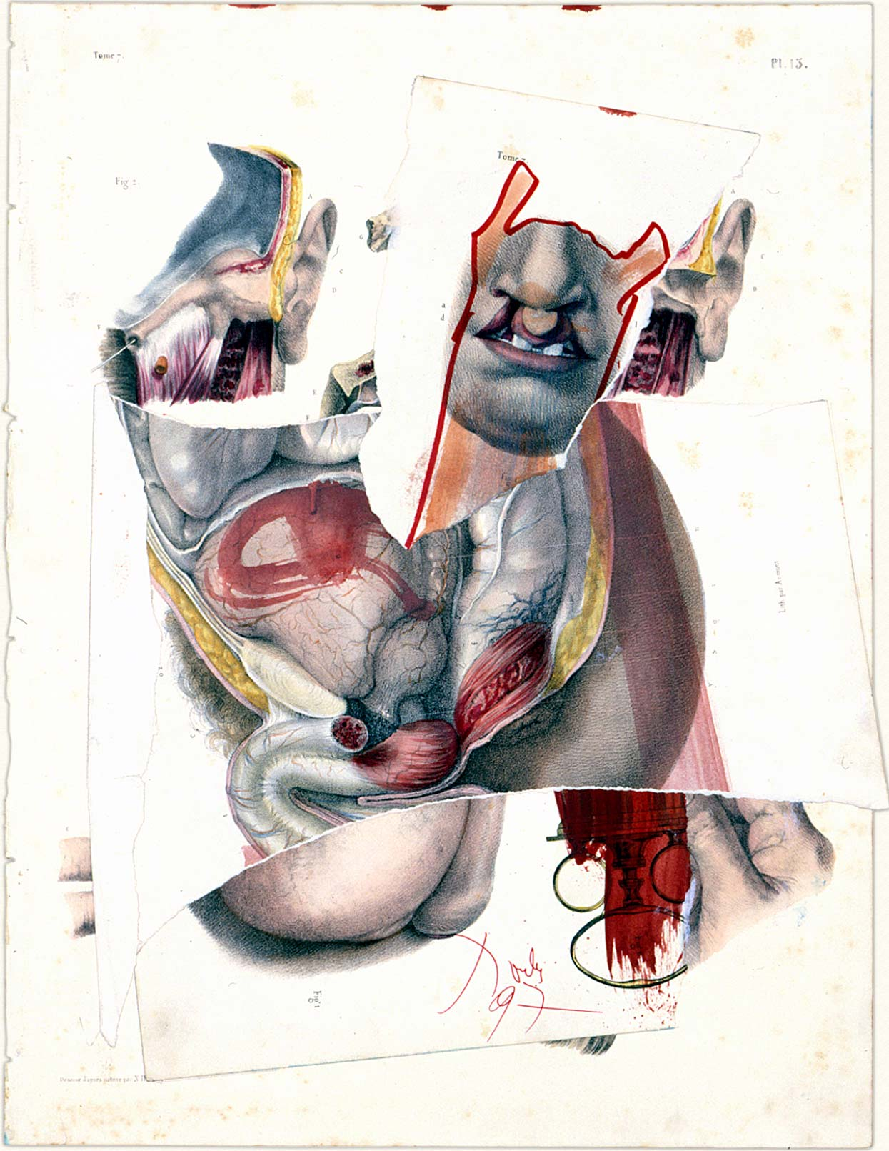 Dado's collage: Untitled, 1997