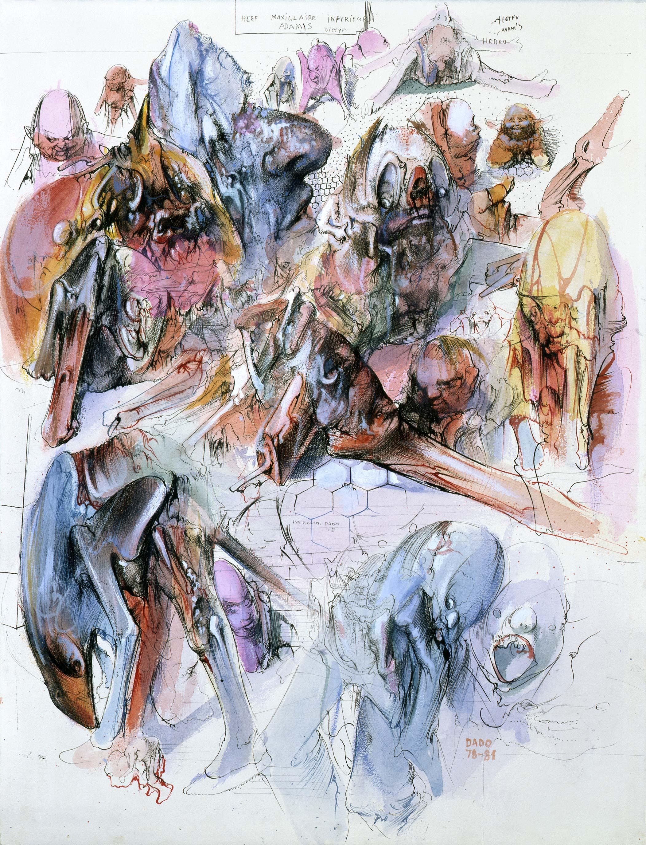 Adam's diptych I, 1978-1981