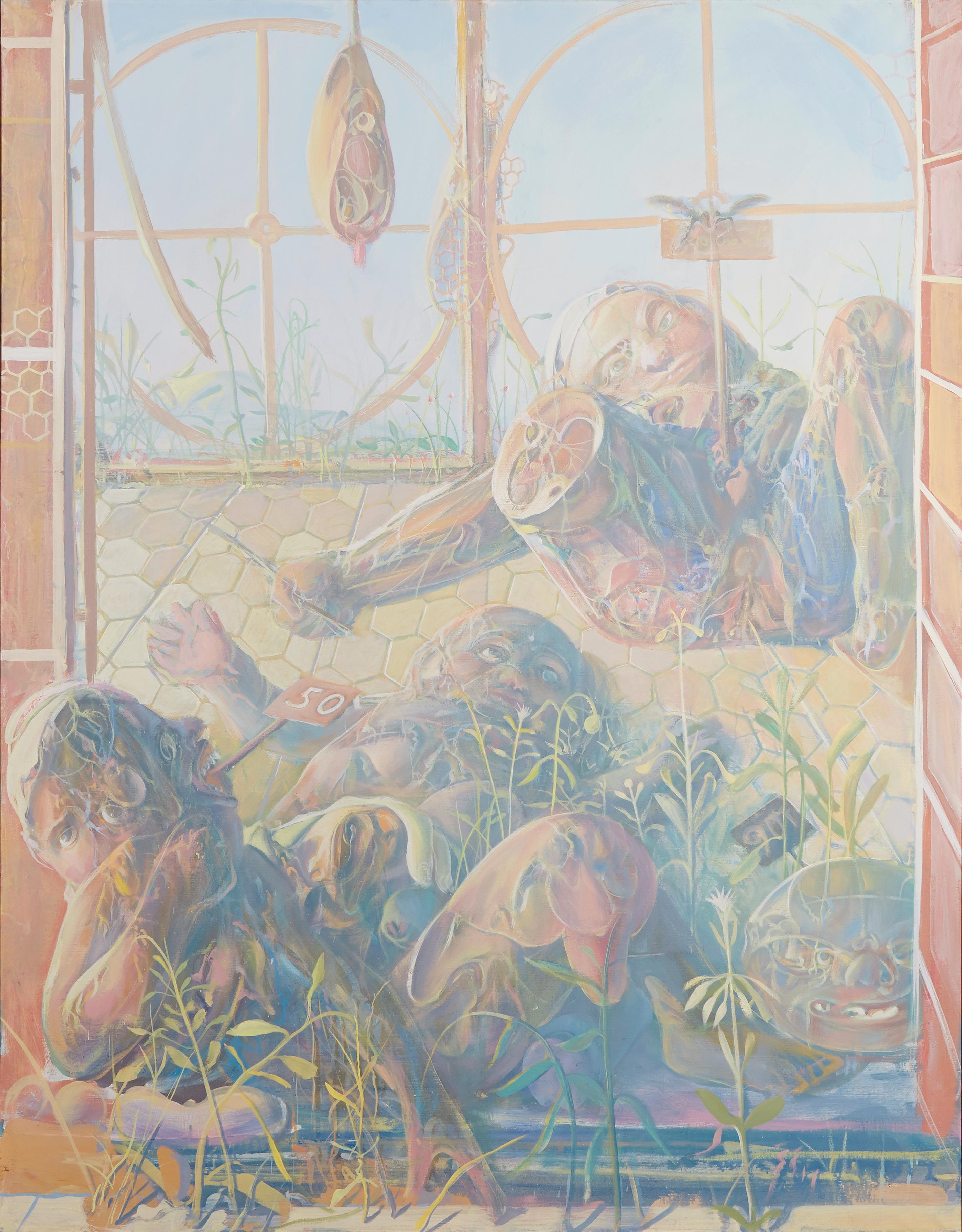 Alimentary Triptych II, 1973