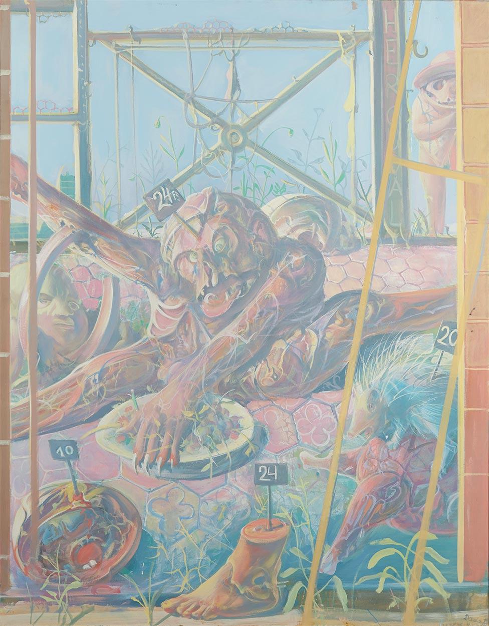Dado: Alimentary Triptych III, 1973