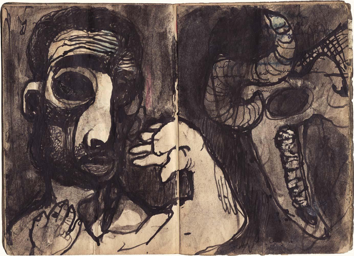 Dadova bilježnica iz 1953. godine.