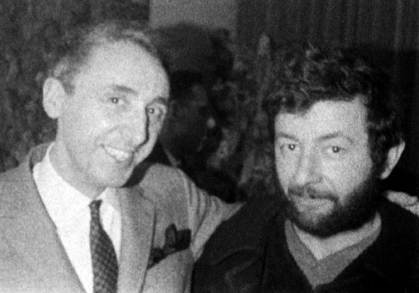 Dado (Miodrag Djuric) et Daniel Cordier