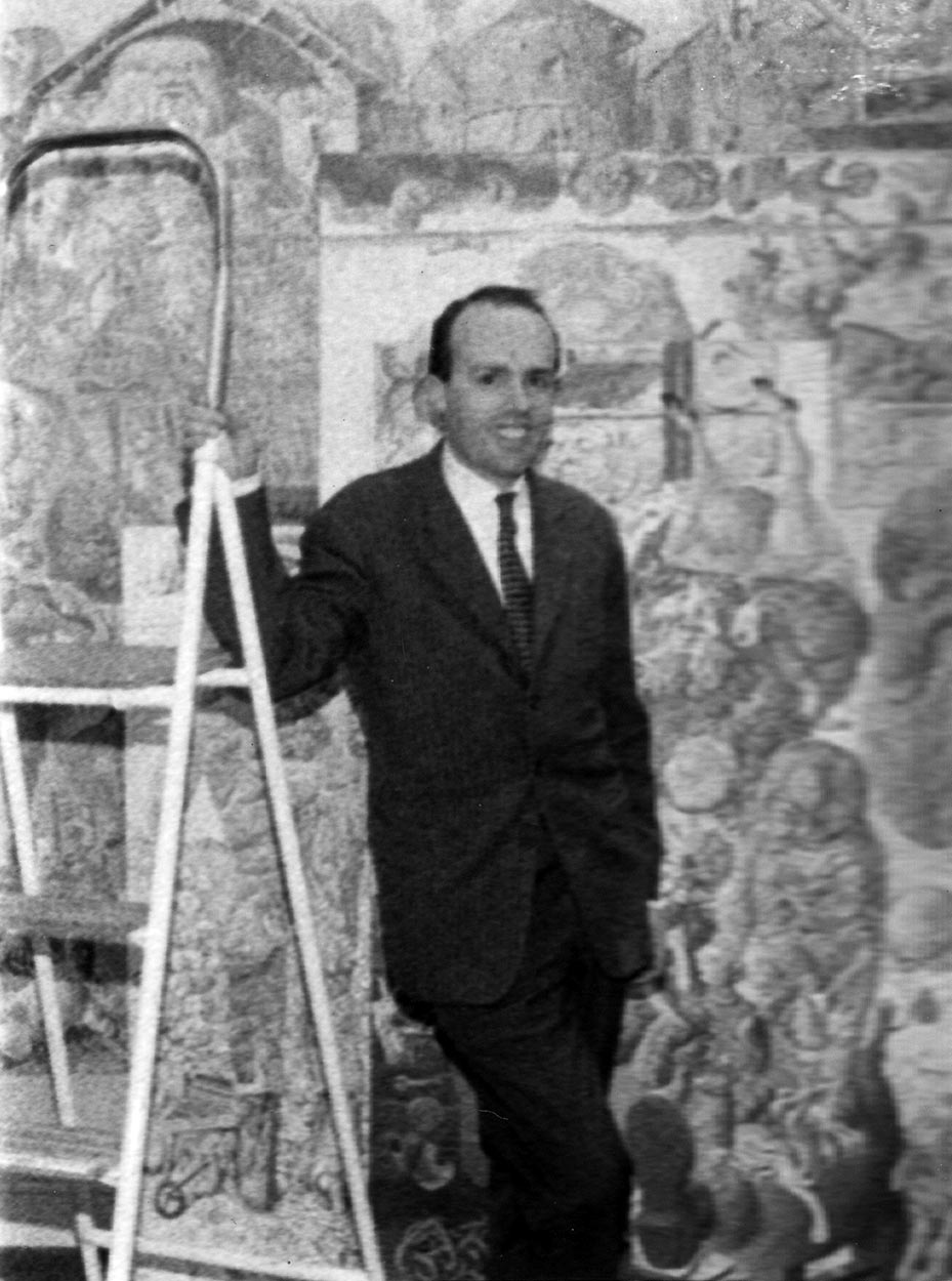 Žan Delpeš u Eruvalu 1964. godine.