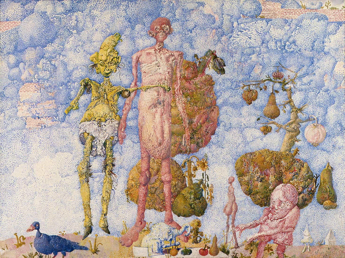 Dado: Adam and Eve, 1961-1962
