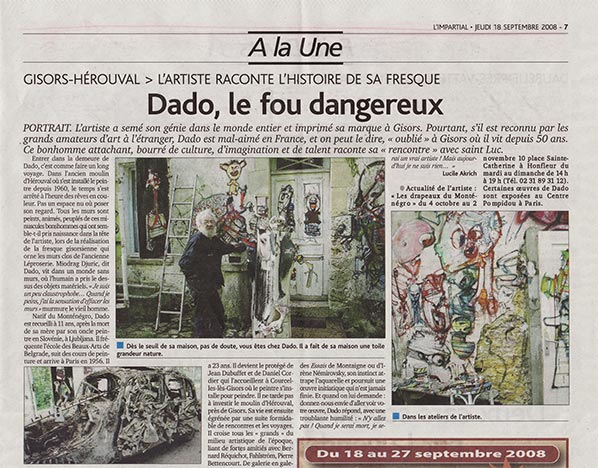 Article in the journal L'Impartial