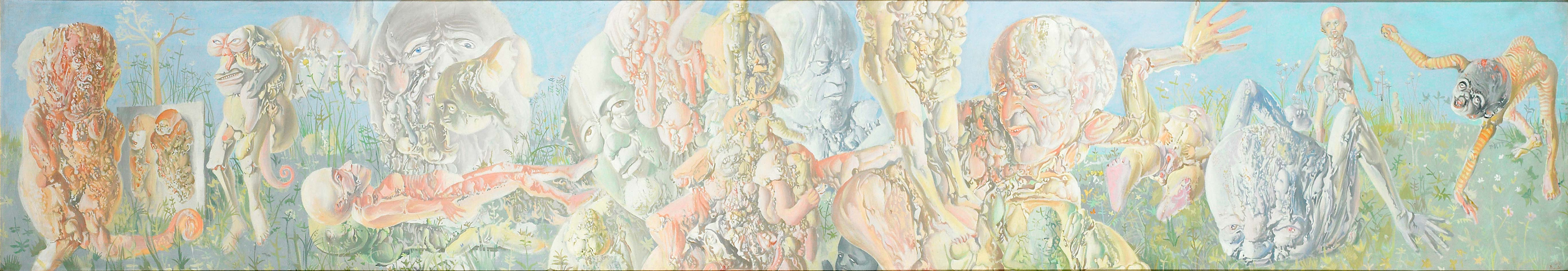 Large fresco, 1966 (detail)