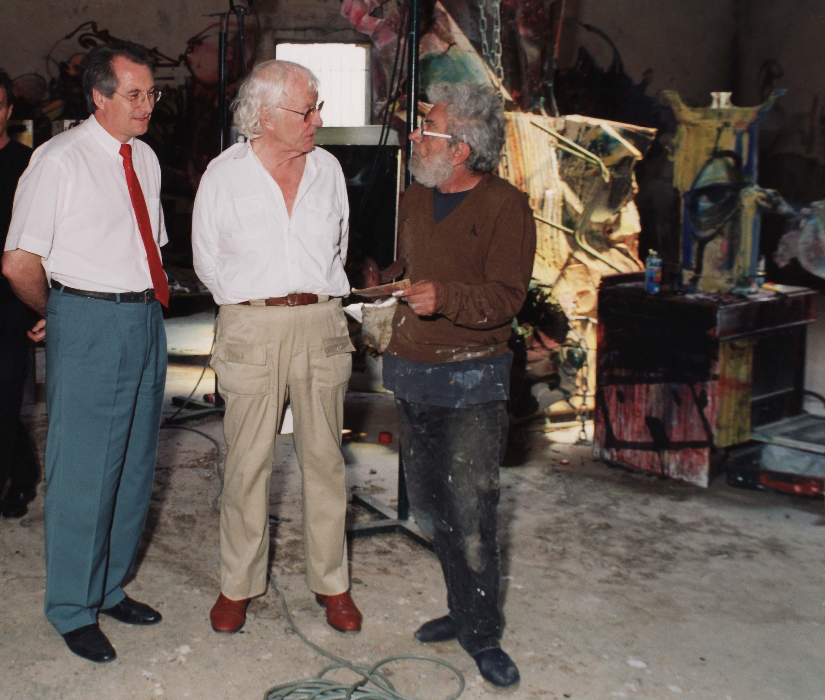 André Gélis, Roman Opałka and Dado