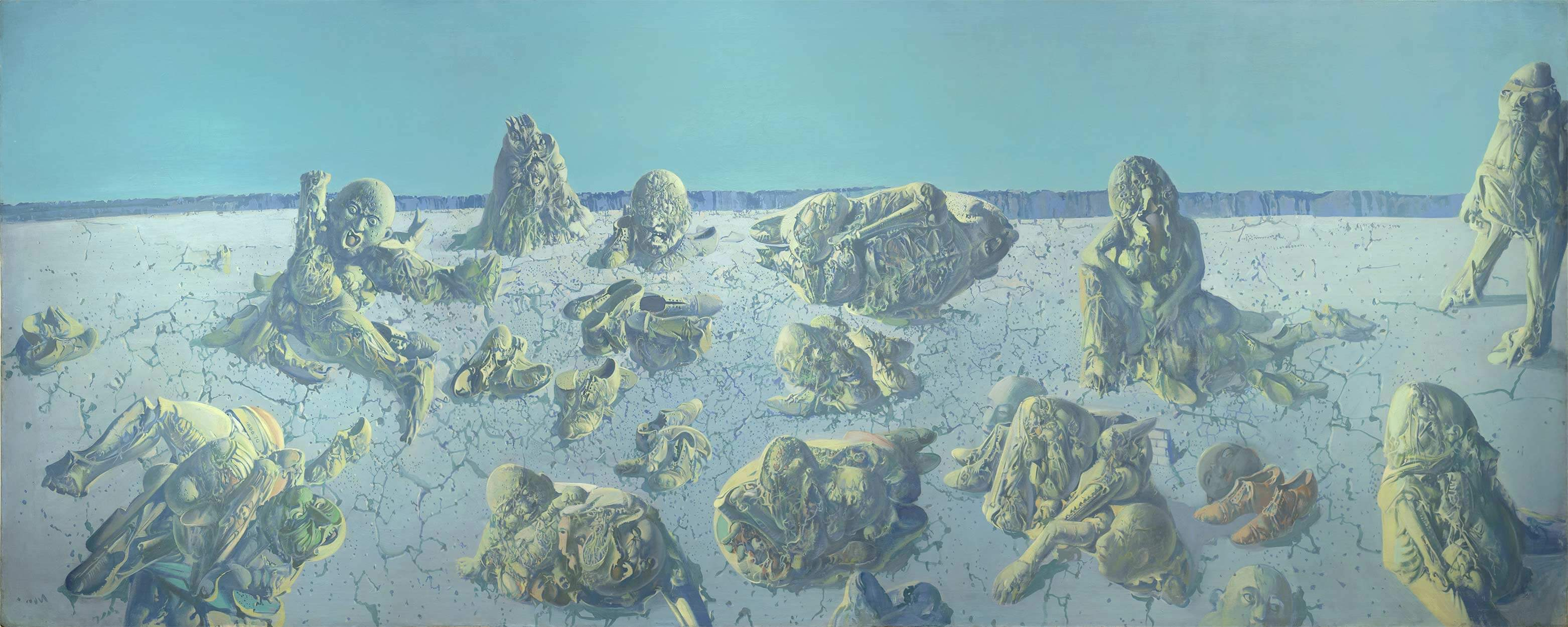 Dado: Great Blue Beach, 1970