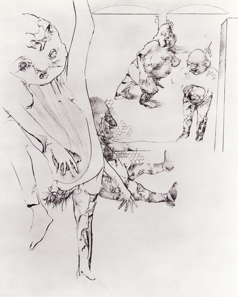 Dadove gravire : Nosorog I