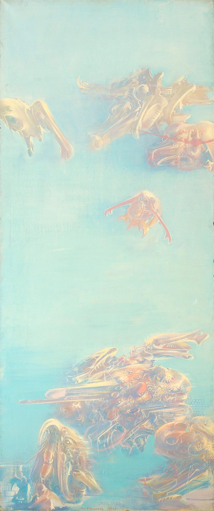 Dado: L'Hôtel-Dieu, Westhampton Crabs, 1979