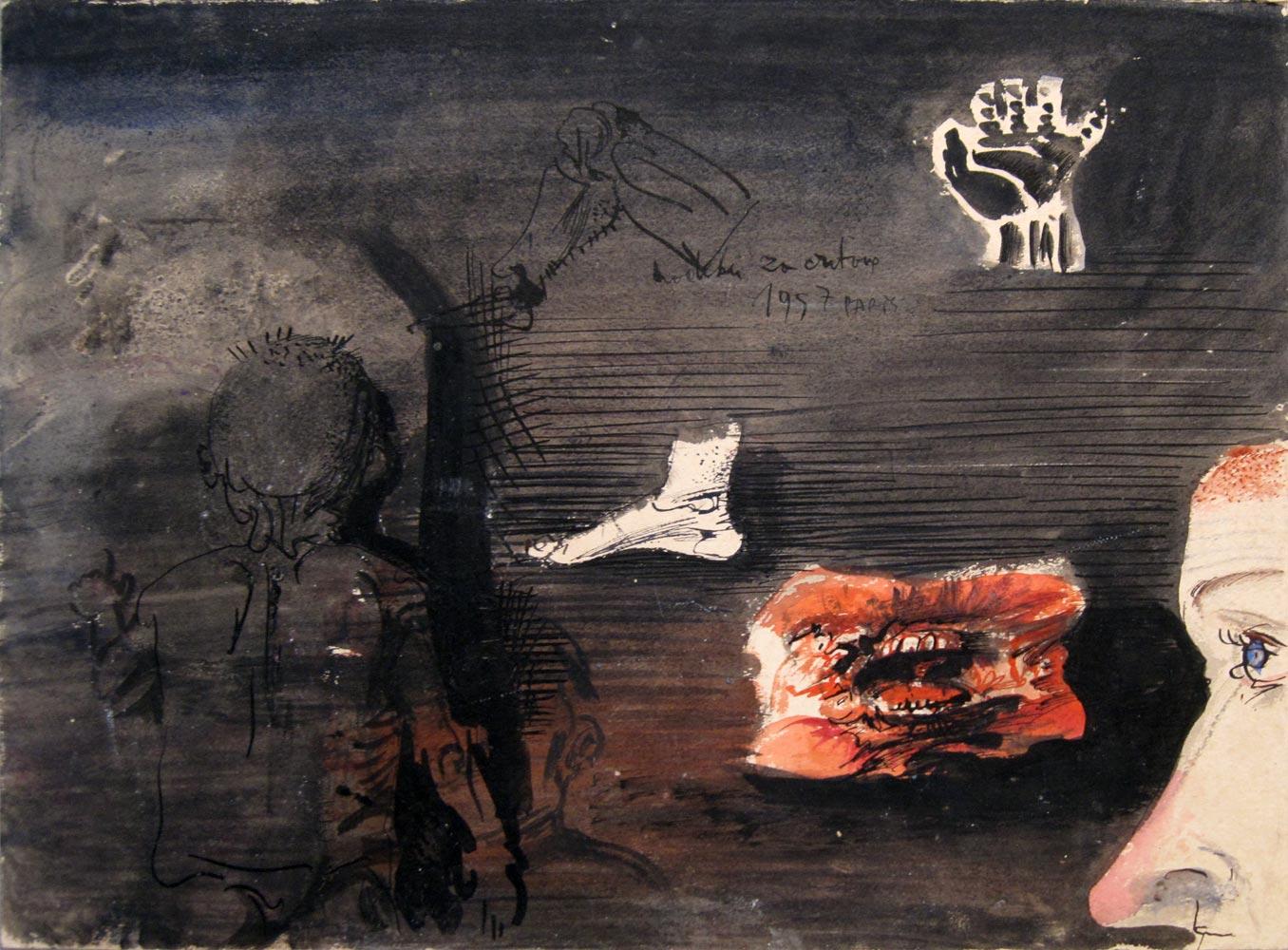 Bez naslova, 1957