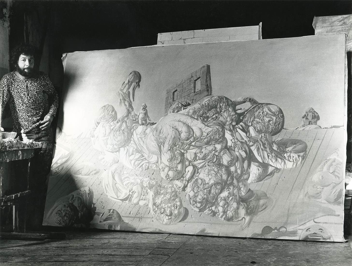Dado at Hérouval in 1970