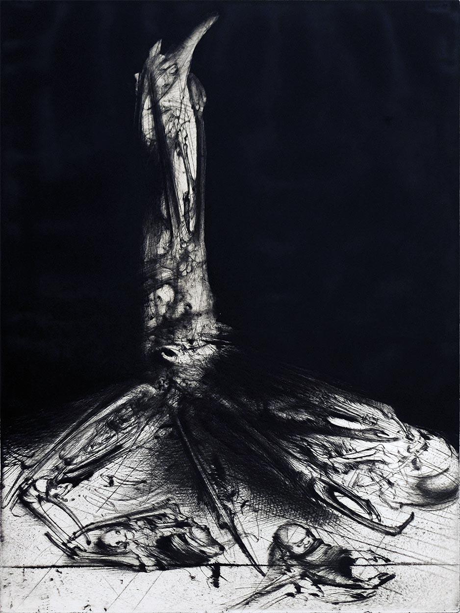Print by Dado, 1982