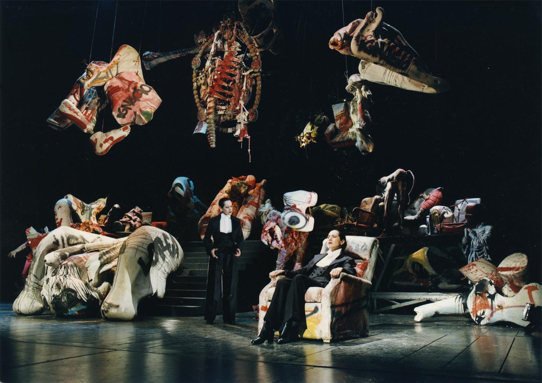 Sets by Dado for Lorca's Llanto