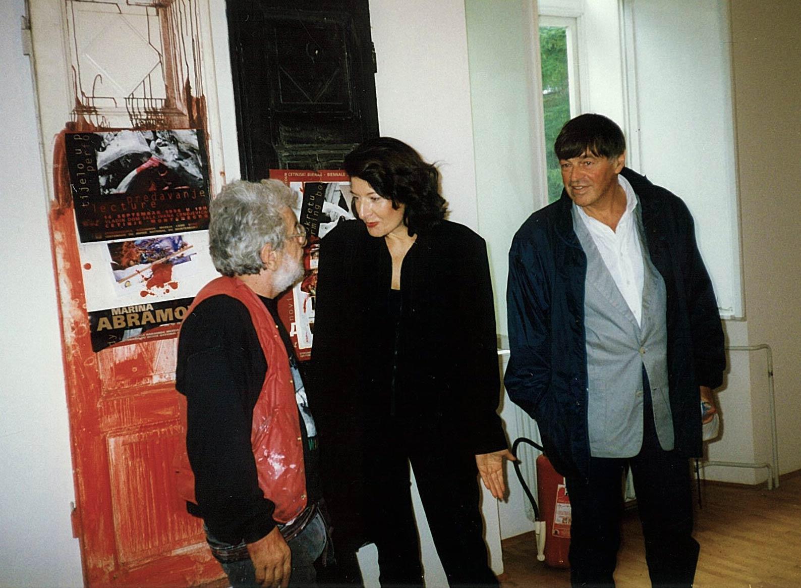Dado and Marina Abramović