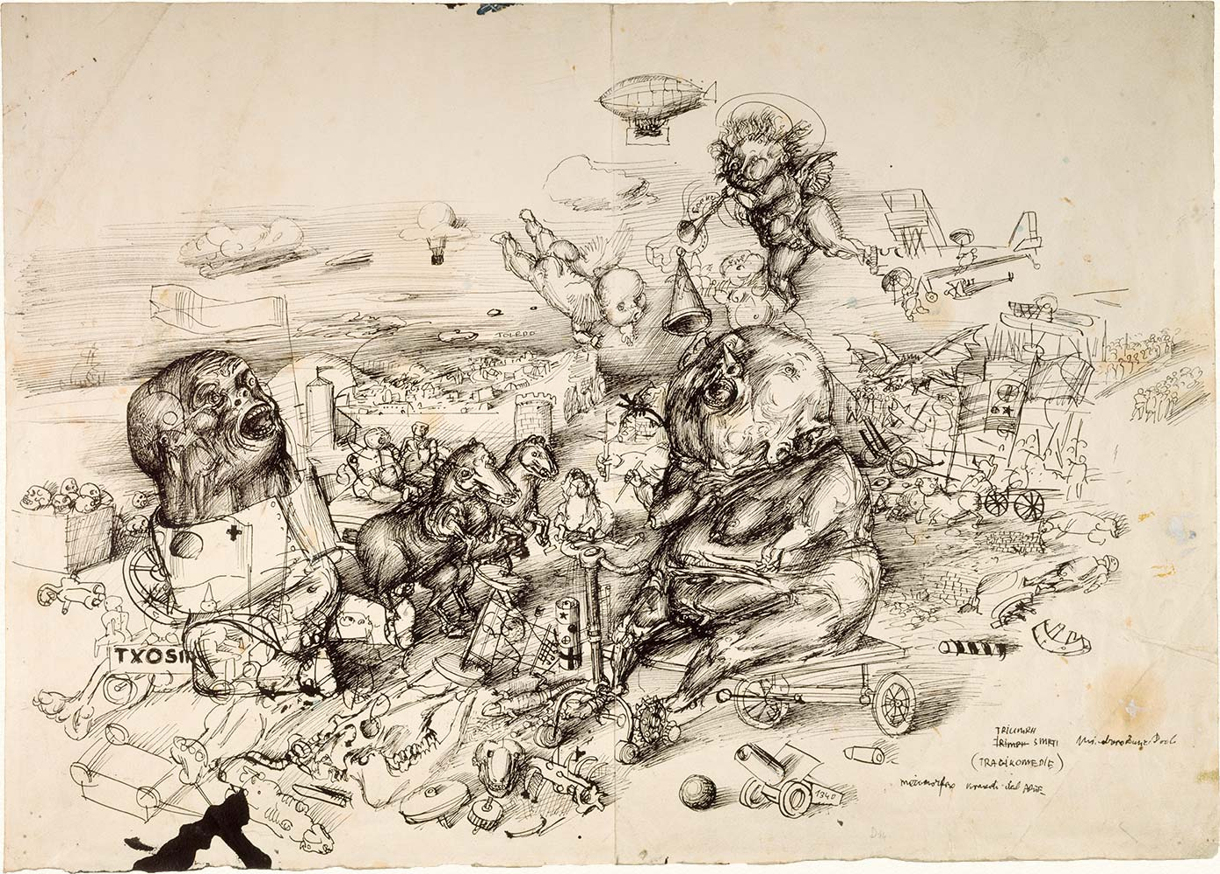 Metamorphosis, Commedia dell'Arte