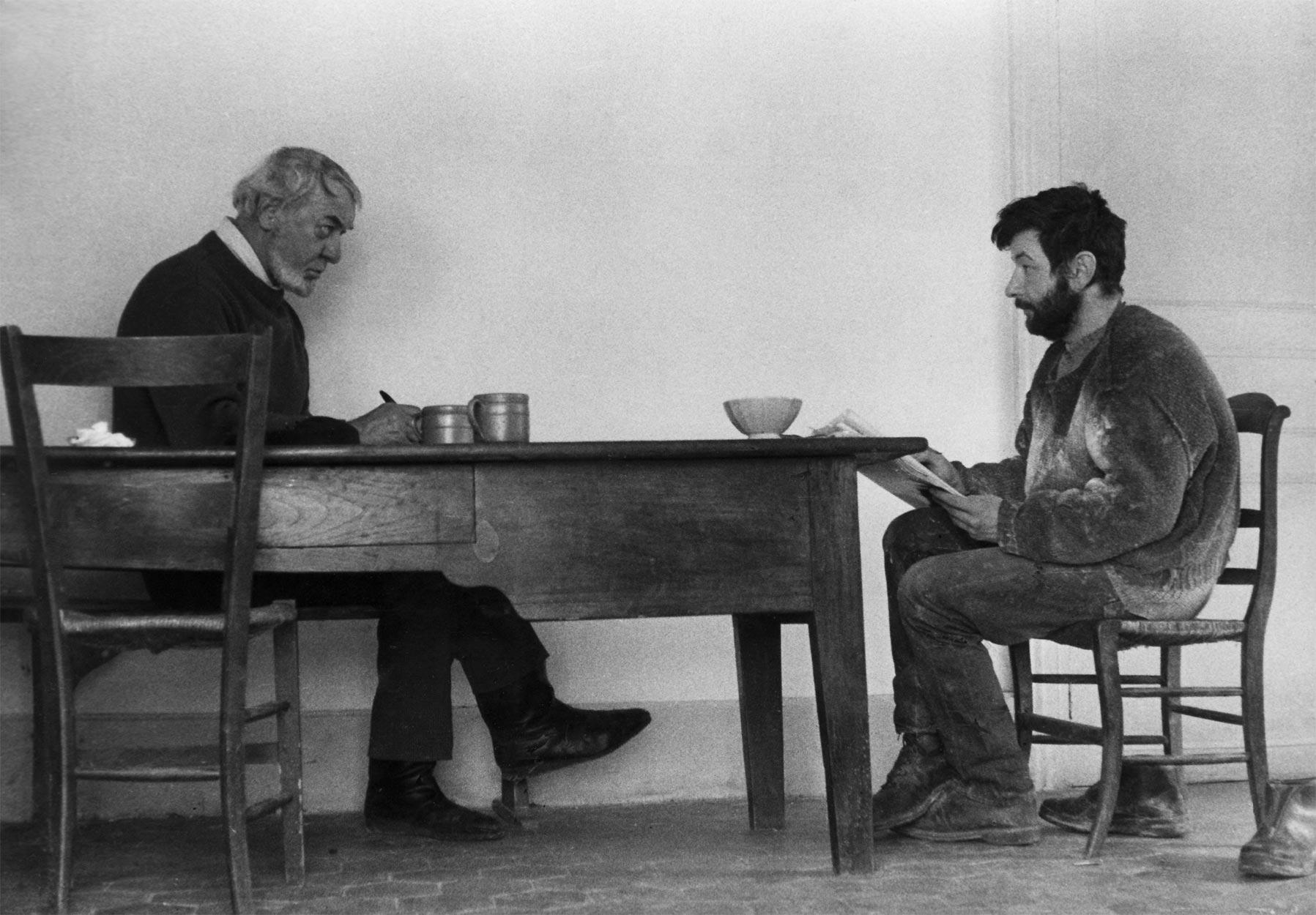 Dado and his uncle Mirko in 1967