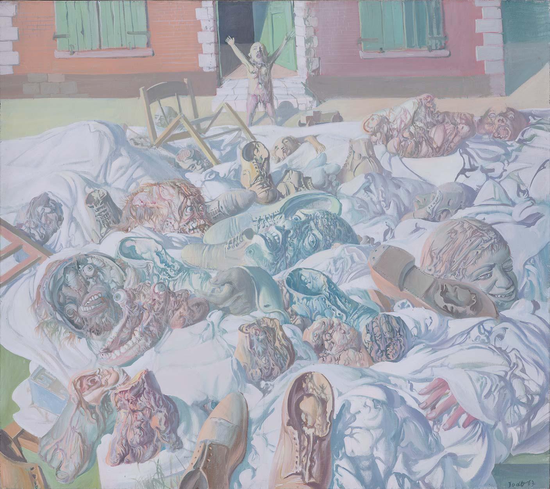 Dado: Expulsion in Montrouge, 1967