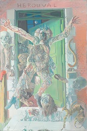 L'Homme à tête de mouche, 1967