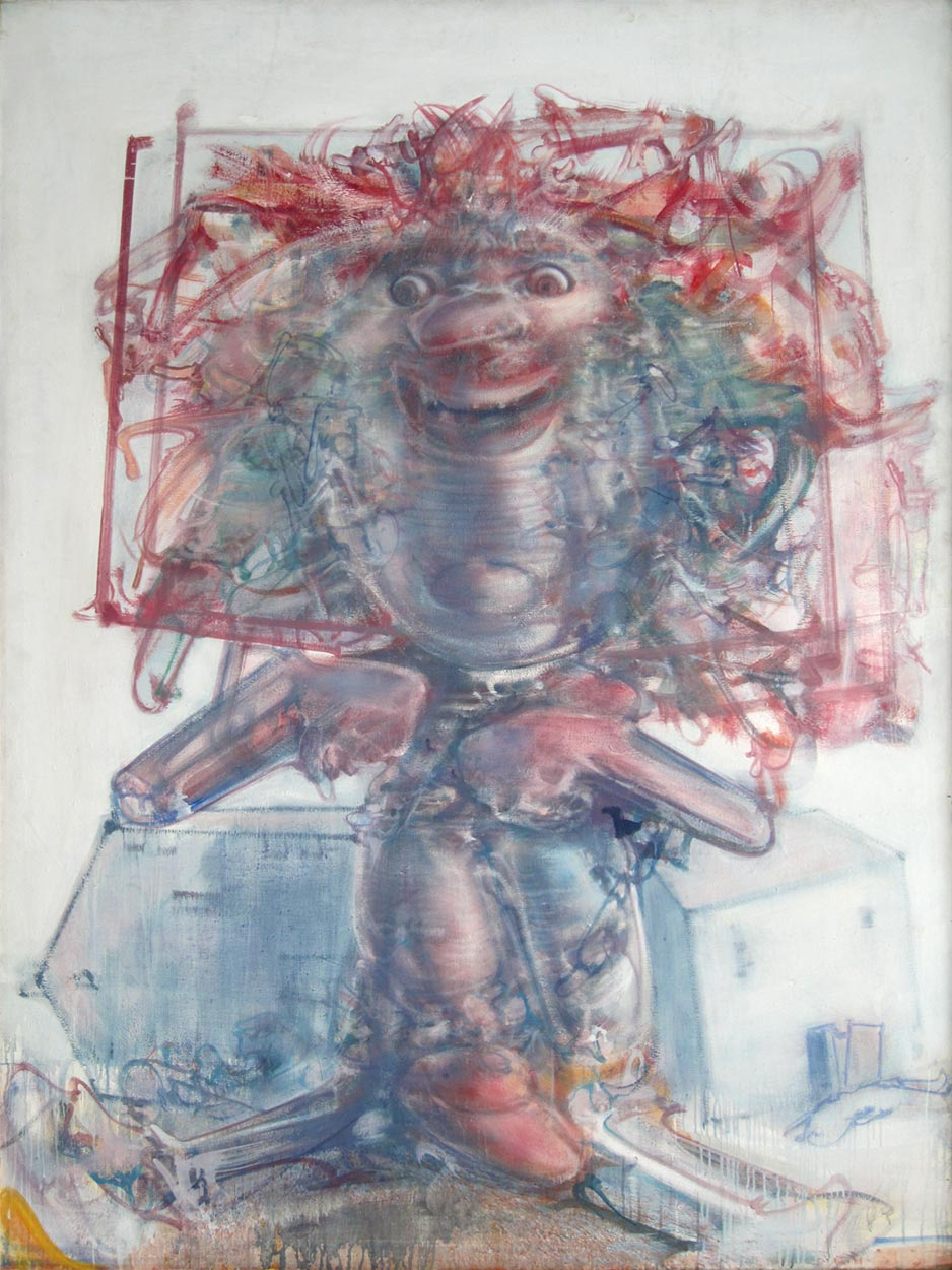 Dado: MPF, 1996, oil on canvas, 200 × 150 cm