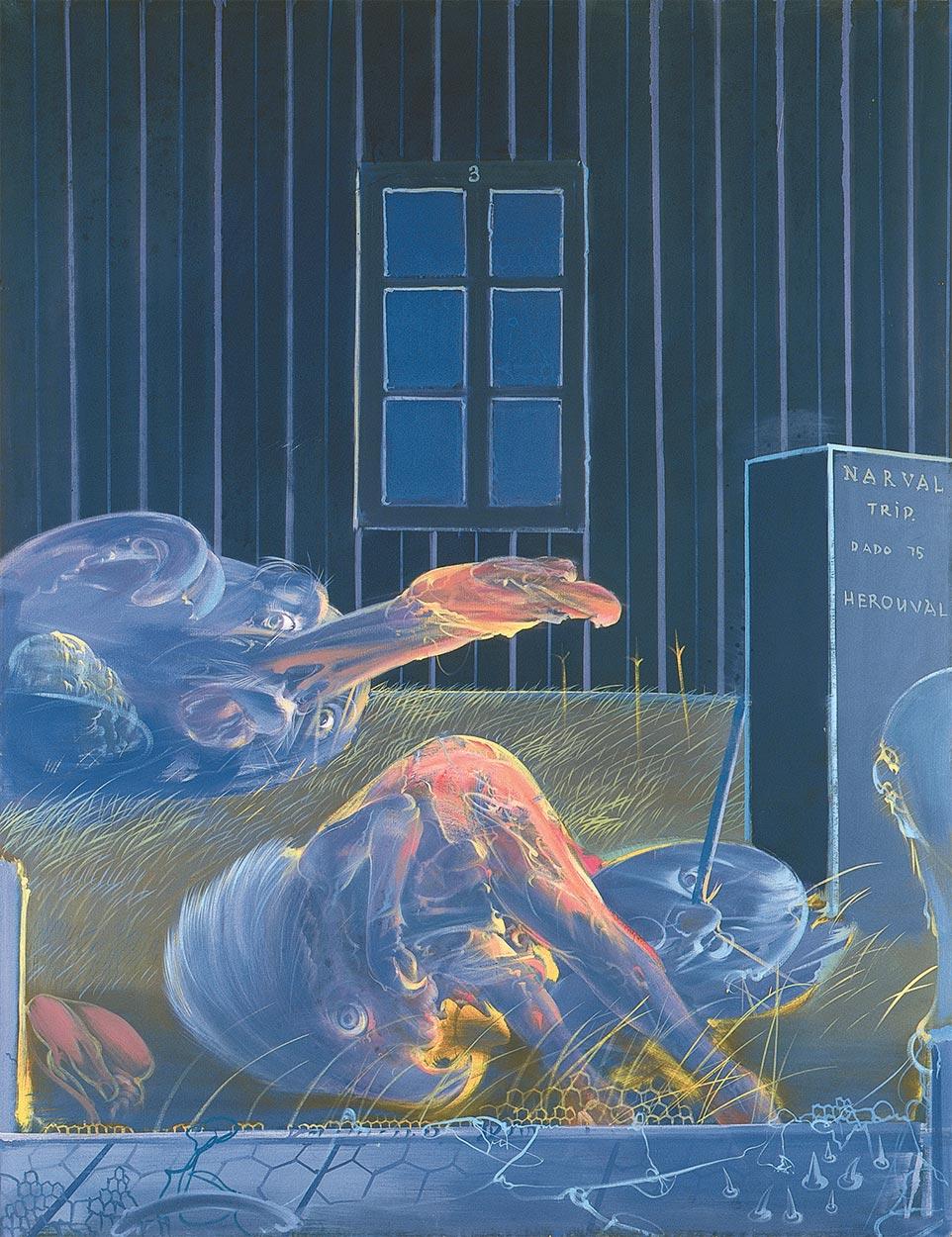 Dado: Narval Triptych, 1975