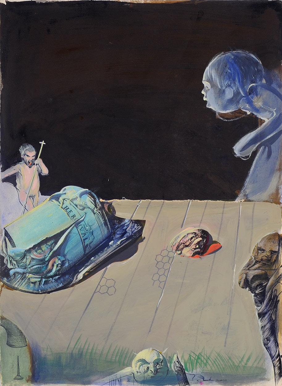 Pali-Kao Triptych, 1973