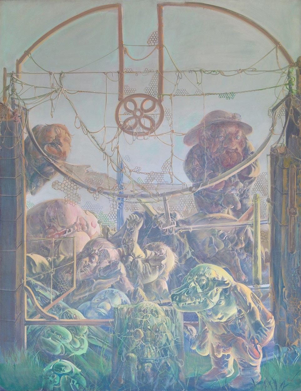 Dadova slika: Triptih Pali-Kao, 1972