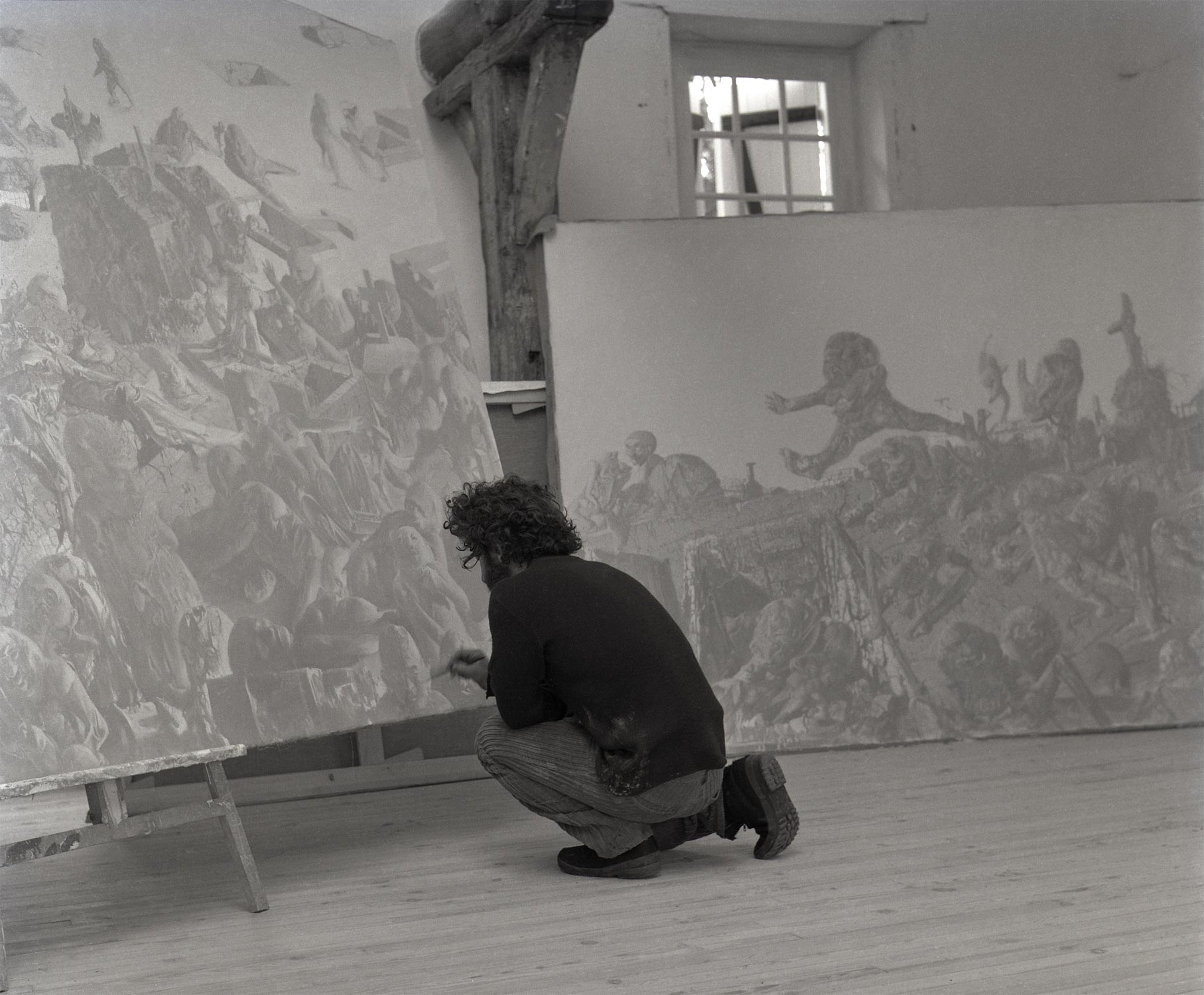 Dado painting in 1971