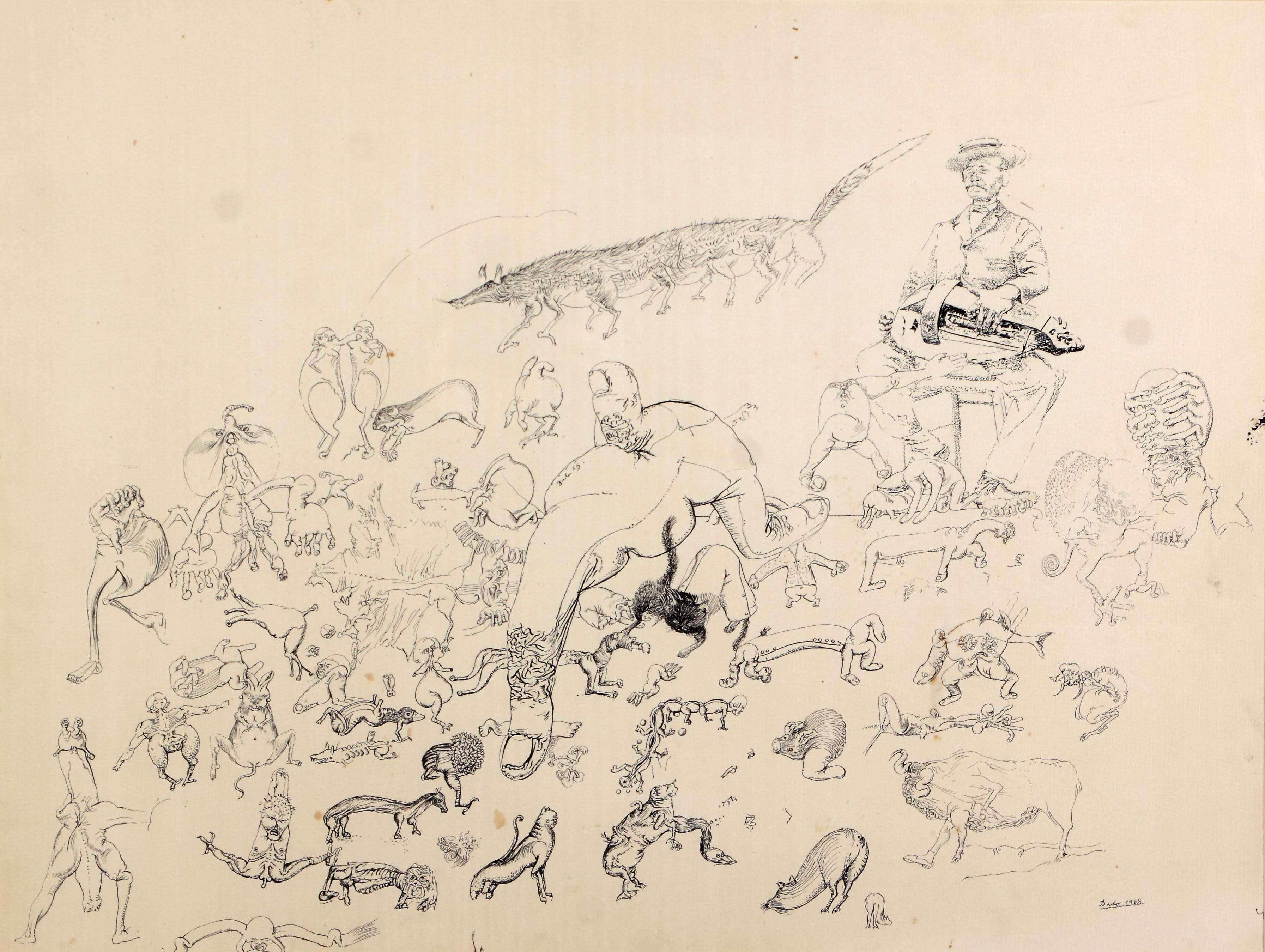 Dado: Untitled, 1963