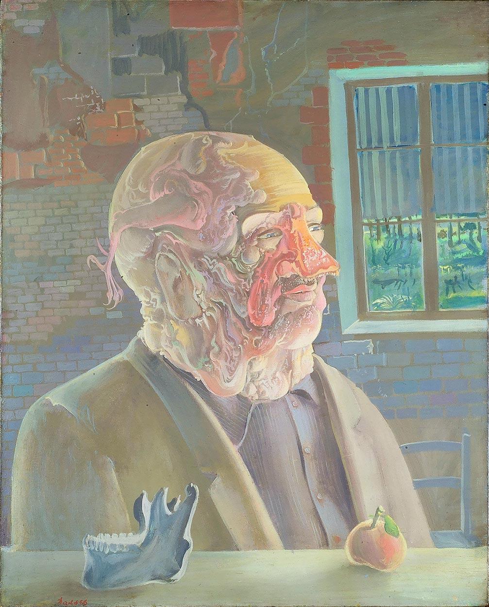 Dado: Portrait of Teuteu, 1966