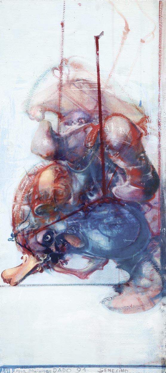 Dado's painting: Senesino, 1991