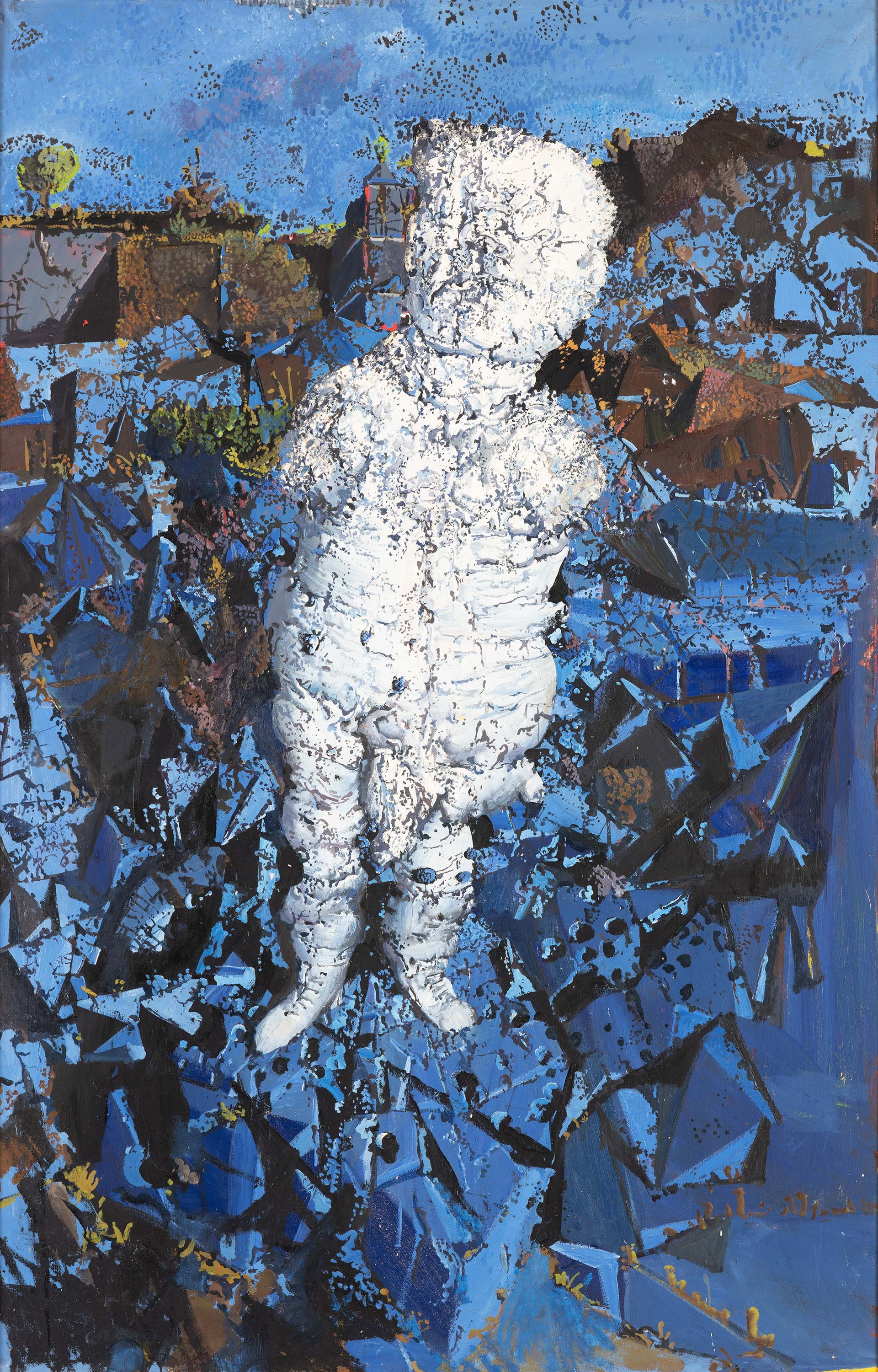 Dado's painting: Untitled