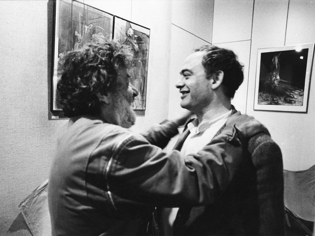 Dado (Miodrag Djuric) and Roland Topor