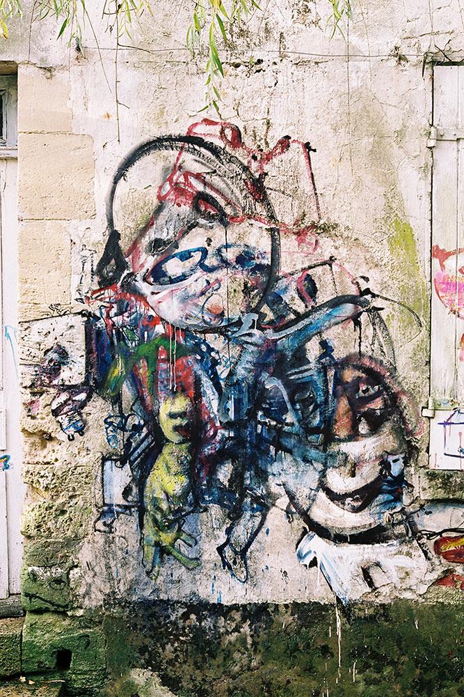 Dado: Zidno slikarstvo Eruvala – Ulaz u prvu zgradu