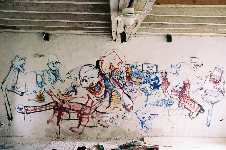 Dado: Zidno slikarstvo Eruvala – Treći atelje