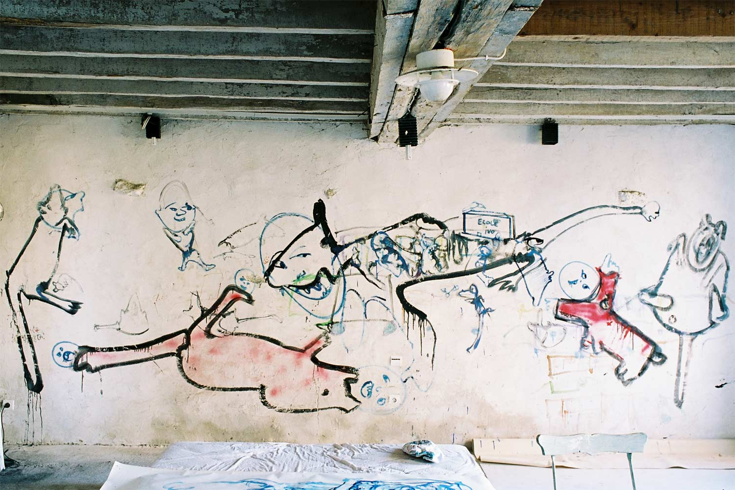 Third studio – Murals at Hérouval