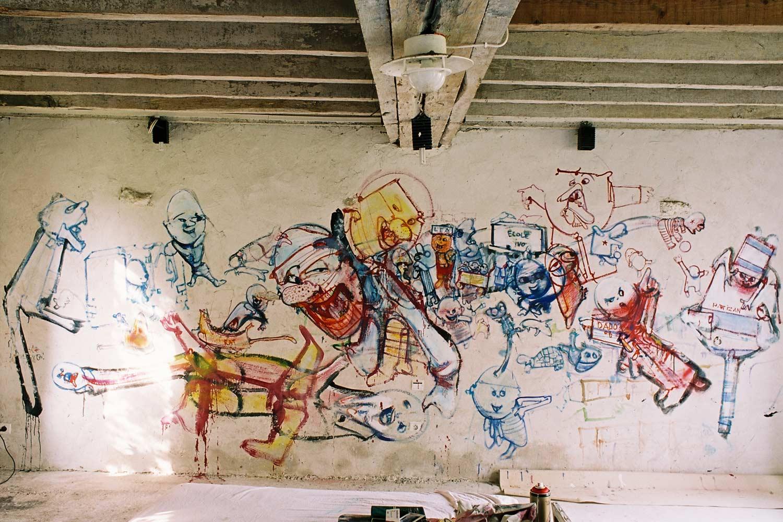 Third studio – Murals at Hérouval