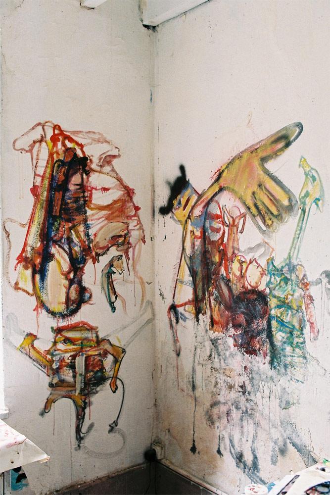 Dado: Zidno slikarstvo Eruvala – Atelje od keramike – Istočni zid