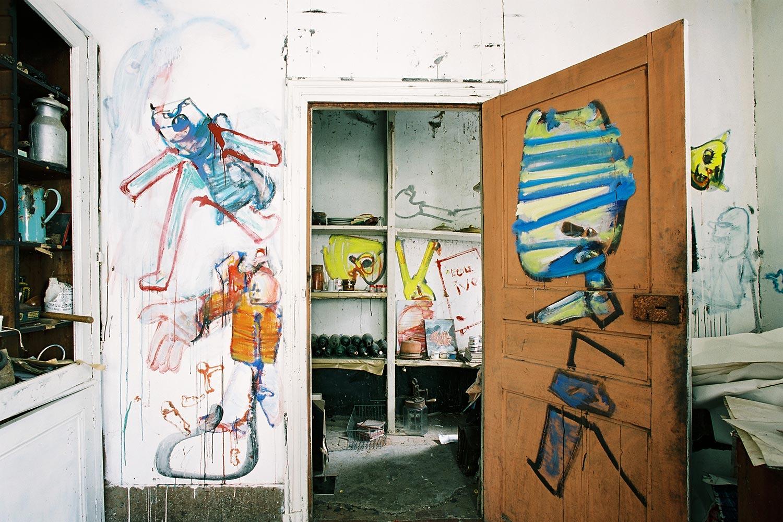 Ceramics workshop – North wall – Murals at Hérouval